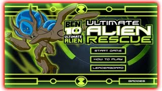 Ben 10 - Ultimate Alien Rescue - Ben 10 Games