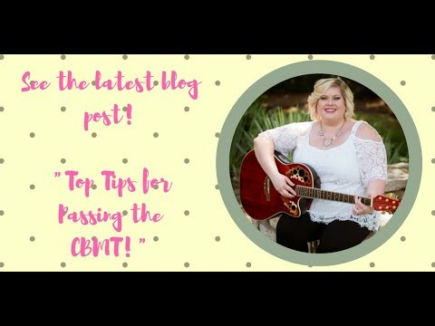 Top Tips For Passing The CBMT!