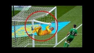 أكثر الحظات المضحكة في كرة القدم ...!! شاهد ماذا فعل حارس المرمي