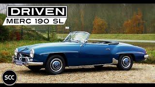 Mercedes-BENZ 190sl   190 SL 1960 - Modest test drive - Mercedes W121 engine sound