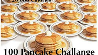 All you can eat pancake challenge at IHop 100 Pancakes???