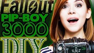 DIY Fallout PIP-BOY 3000 своими руками, косплей AVA EXPO