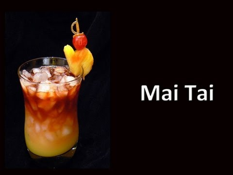 Mai Tai Cocktail Drink Recipe