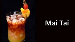 Mai Tai Cocktail Drink Recipe
