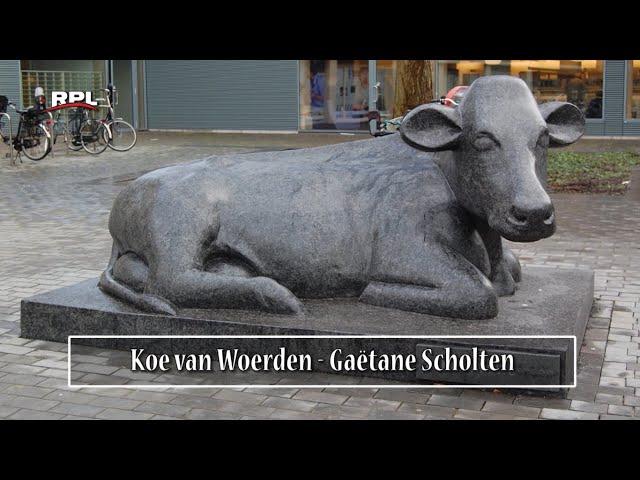 Beelden in Woerden: De koe van Woerden