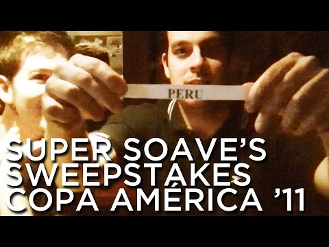 2011-06-15 'Super Soave's Sweepstakes: Copa América 2011'