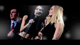 SEREBRO - Лучшая Группа (Первая Российская Национальная Музыкальная Премия, 10/12/2015)