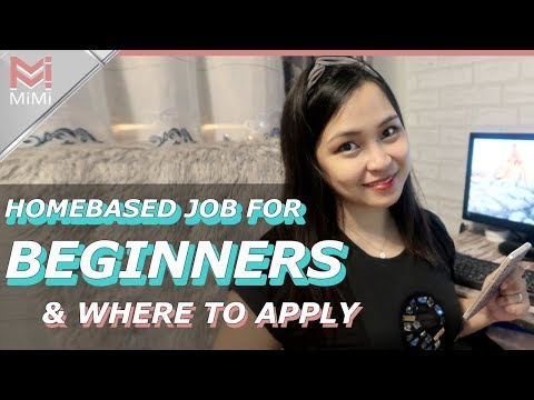 Home Based Job for Beginners