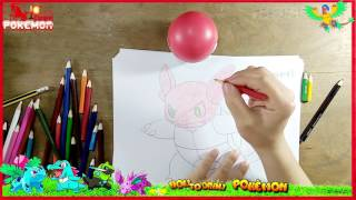 How to Draw Colorful wartortle   Coloring Pages for Kids   Art Colors for Children