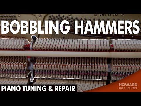 Piano Tuning & Repair - Bobbling Hammers