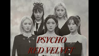 psycho by red velvet (레드벨벳) ➼ english cover