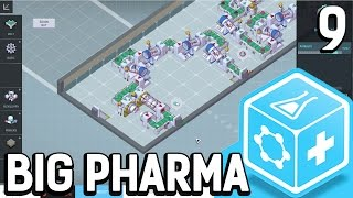 Big Pharma #9 Ein System ohne System Der Pillen Fabrik Simulator BETA Gameplay