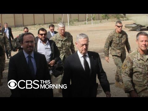 Mattis makes surprise visit to Afghanistan amid violence