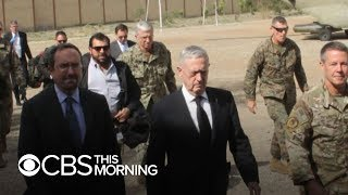 Mattis makes surprise visit to Afghanistan amid violence