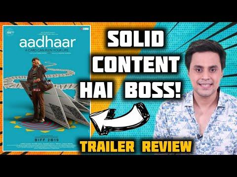 AADHAR Trailer Review | Manish Mundra | Saurabh Shukla | RJ Raunak | Baua