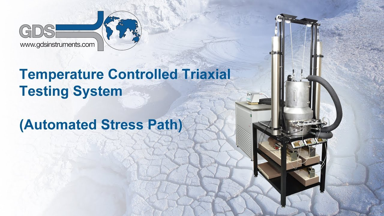 strain controlled triaxial test geotechnical engineering Nptel- advanced geotechnical engineering pore water pressure and shear strength - 5 the basic features of the triaxial test equipment were shown in figure 4.