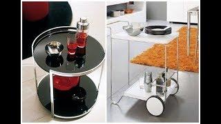 видео Сервировочный стол на колесах