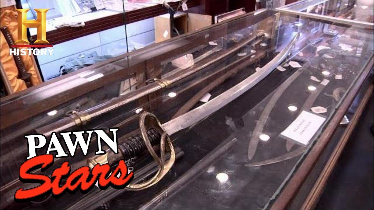 Pawn Stars: High Hopes for RARE John Wayne Sword (Season 8) | History