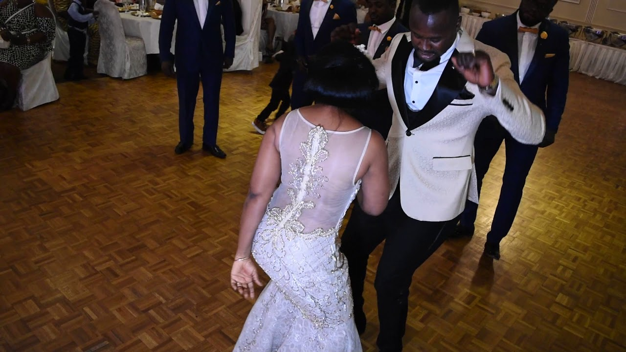 Thomas Abena Wedding Reception Second Entrance Wow What A Dance Moves