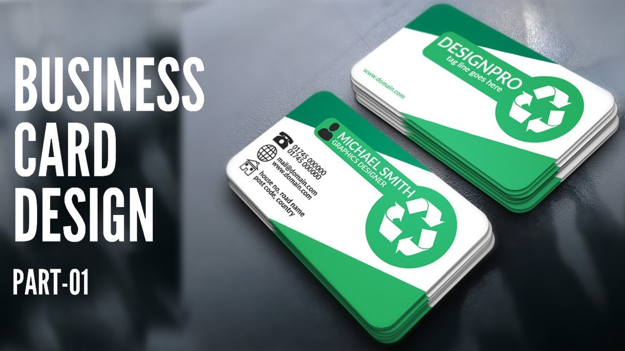Business Card Design – Photoshop Business Card Template Design Tutorial | Part One