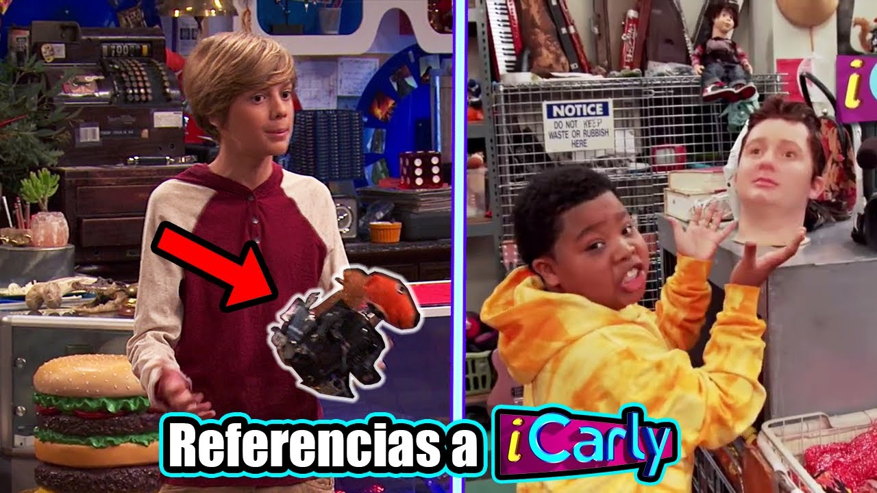 15 Referencias a iCarly en Henry Danger y Game Shakers Ft. @NeiterAll
