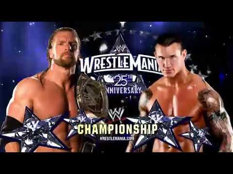 TRIPLE H vs RANDY ORTON WWE