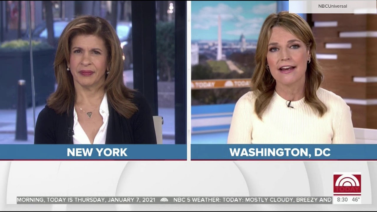 NBC News 'Today' 8:30 a.m. reopen Jan. 7, 2021