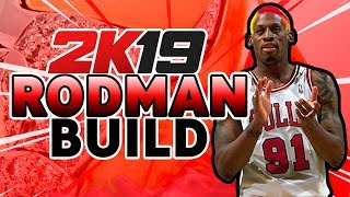 DOMINATE THE GLASS | THE Dennis Rodman build for NBA 2K19