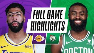 Game Recap: Lakers 96, Celtics 95