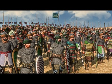 Crusaders Vs Saracens | 20,000 Unit Cinematic Siege Battle | Total War Medieval Kingdoms 1212 AD |