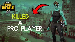 I Killed Ghost Issa With Reaction (Both POV) (Fortnite Battle Royale)
