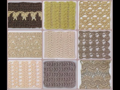 Crochet Stitches| Free |Crochet Patterns| 523