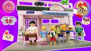 Randka Hani i Filipa w nowej kawiarni? ULUBIONA KAWIARNIA Playmobil City Life! | Budujemy!