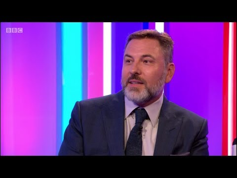 David Walliams Interview on BBC The One Show