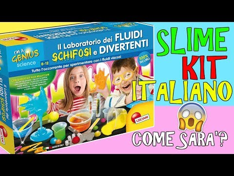 Download Youtube: PROVO SLIME KIT ITALIANO (LABORATORIO DEI FLUIDI SCHIFOSI E DIVERTENTI!) Iolanda Sweets