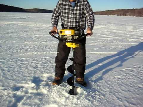 Jiffy Ice Auger