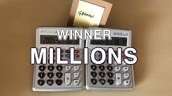 WINNER - MILLIONS ( Calculator Cover by Ggearei )