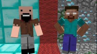 ERBoM. Нотч vs Хиробрин Minecraft Анимация