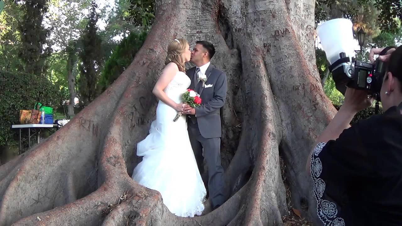 Heritage Park Santa Fe Springs Wedding Trailer Affordable Videography Los Angeles You