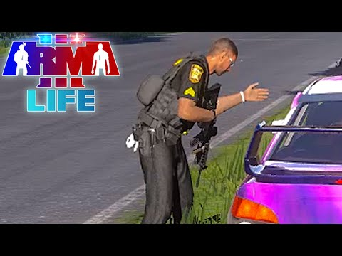 Arma 3 Life Police #57 - Traffic Stops