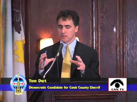 Thomas J. Dart, Democratic Candidate for Cook County Sheriff