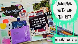 Journal with Me : Tid Bits : Creative Week 34: Swatches & Eyes