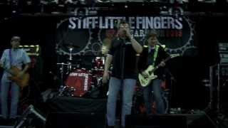 Stiff Little Fingers  - Sound Check - Playing with Stiff Little Fingers - Suspect device