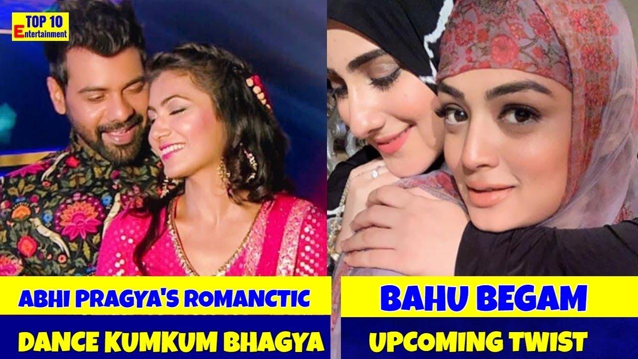 Kumkum Bhagya Abhi and Pragya's romantic dance Bahu Begum upcoming twist