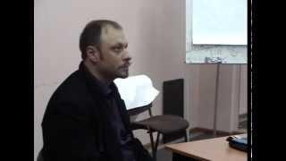 01. Диалогическая философия (16.10.2014)