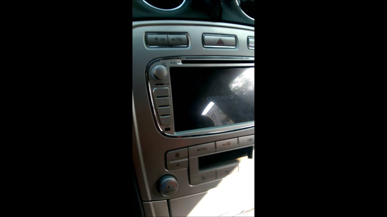 navigation dvd gps android ford mondeo mk4 focus youtube. Black Bedroom Furniture Sets. Home Design Ideas