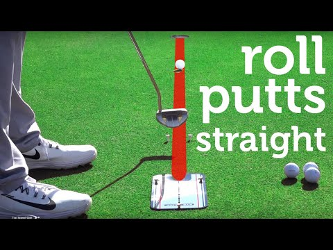 How to Putt The Golf Ball Straight