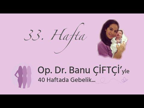 Op. Dr. Banu Çiftçi'yle 40 Haftada Gebelik - 33.Hafta