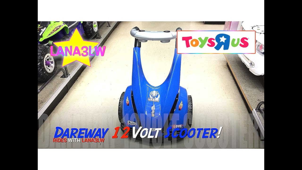 Best Popular Dareway Volt Scooter Kids Ride On Electric Car
