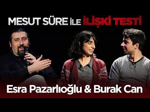 Mesut Süre İle İlişki Testi | #36 Esra Pazarlıoğlu & Burak Can